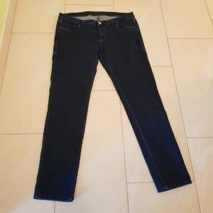 Trussardi Jeans Jeans slim bleu foncé-turquoise