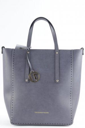 "Trussardi Jeans Carry Bag ""Linea Sagapo Shopper Grey"" grey"