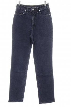Trussardi Jeans High Waist Jeans dark blue jeans look