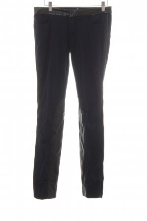 Trussardi Jeans Wortel jeans donkerblauw-zwart Biker-look