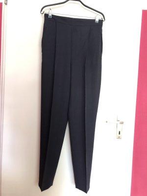 Trussardi Jeans Pantalon à pinces bleu foncé-bleu tissu mixte