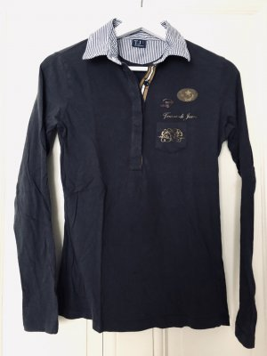 Trussardi Jeans Top Polo multicolore