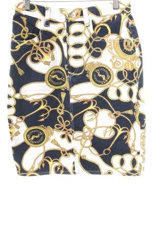 Trussardi Jeans Jupe mi-longue motif abstrait style décontracté