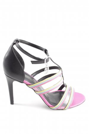 Trussardi Jeans Strapped High-Heeled Sandals multicolored casual look