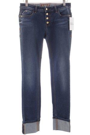 Trussardi Jeans Tube Jeans steel blue college style