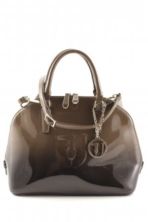 Trussardi Jeans Satchel grey brown-dark brown casual look