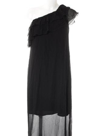Trussardi Jeans schulterfreies Kleid schwarz Casual-Look