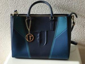 Trussardi Jeans Shopper Handtasche Tasche Designer mit Staubbeutel