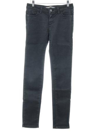 Trussardi Jeans Skinny Jeans dunkelgrau Casual-Look