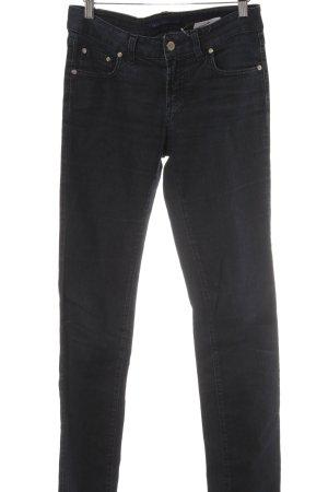 Trussardi Jeans Jeans slim bleu foncé style décontracté