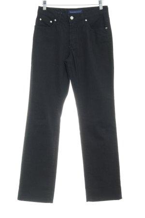 Trussardi Jeans Straight-Leg Jeans schwarz Casual-Look