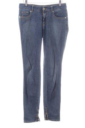 Trussardi Jeans Stretch Jeans blau Casual-Look