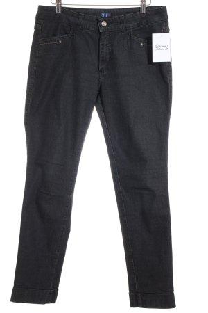 Trussardi Jeans Stretch Jeans schwarz Casual-Look