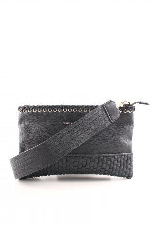 Trussardi Jeans Umhängetasche schwarz Elegant