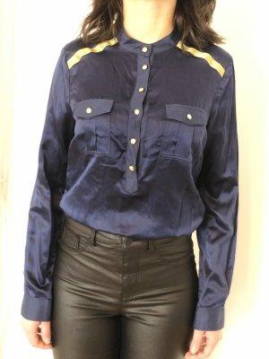 Trussardi Jeans Denim Blouse blue