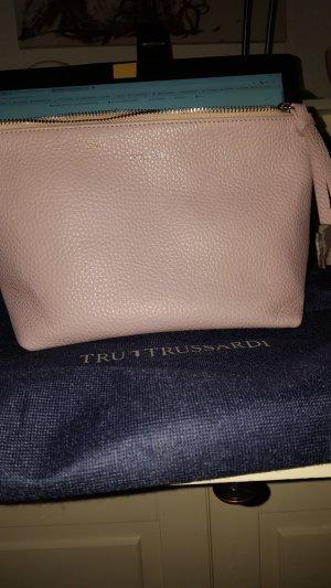 Trussardi Mini sac mauve cuir