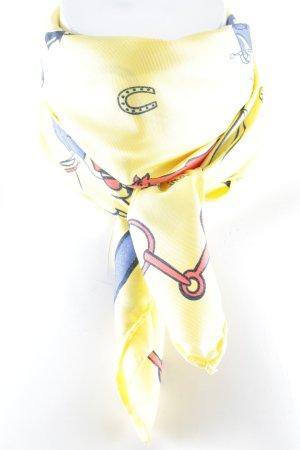 Trussardi Zijden sjaal dierenprint casual uitstraling