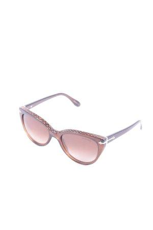 Trussardi Sonnenbrille braun Street-Fashion-Look