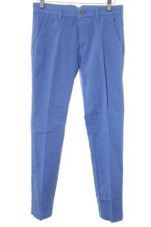 Trussardi Stoffhose kornblumenblau Casual-Look