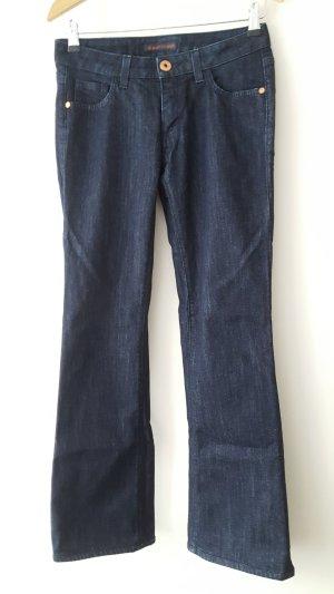 Trussardi wide leg, 111 flare, boot cut  jeans for women, size 25