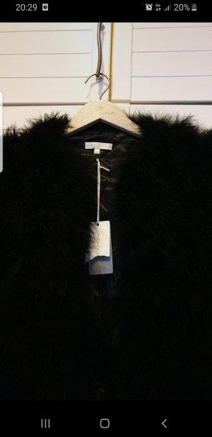 (The Mercer) NY Giacca in pelliccia nero