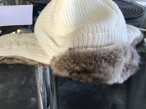 Woolrich Fur Hat multicolored synthetic fibre