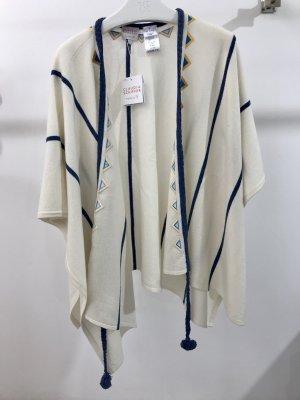TSE Claudia Schiffer Poncho beige Gr S