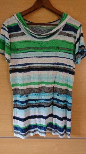 Gina Benotti Camisa de rayas multicolor