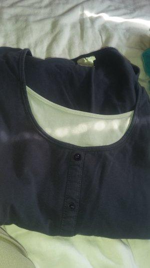 Giada Camiseta blanco-azul oscuro