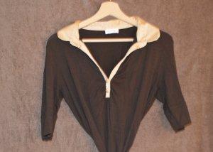 Orsay Long Shirt dark brown-gold-colored mixture fibre