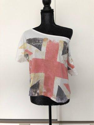 Venice beach Camisa de un solo hombro blanco