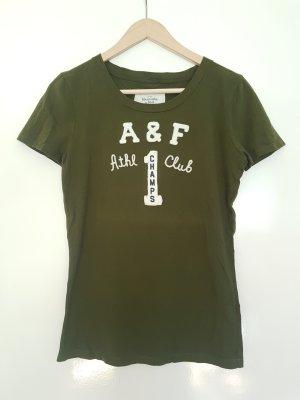 Abercrombie & Fitch Camisa verde oliva-caqui