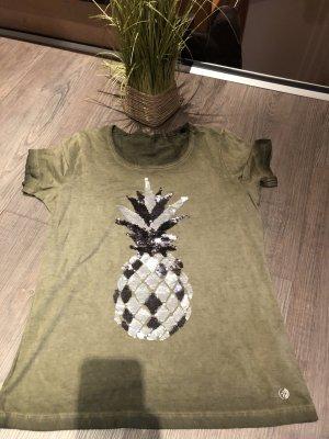 Arqueonautas T-shirt vert olive