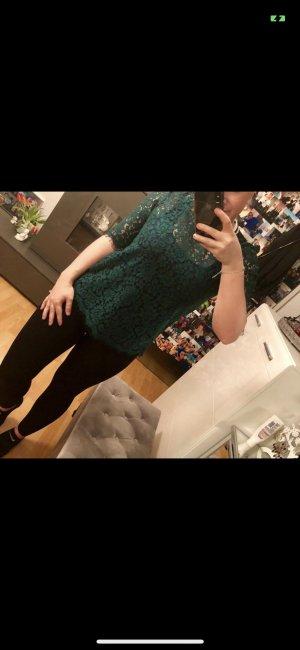 Tshirt aus Spitze dunkelgrün