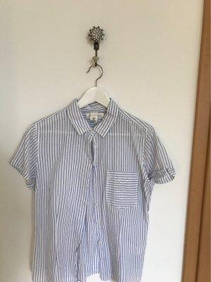 H&M Blouse Collar white-azure
