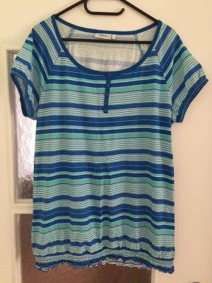 Tshirt C&A Größe L blau gestreift