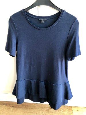 COS T-shirt bleu foncé