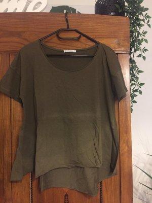 Zara Camiseta caqui
