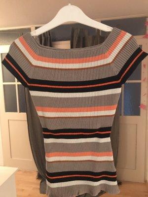 H&M Camisa acanalada multicolor
