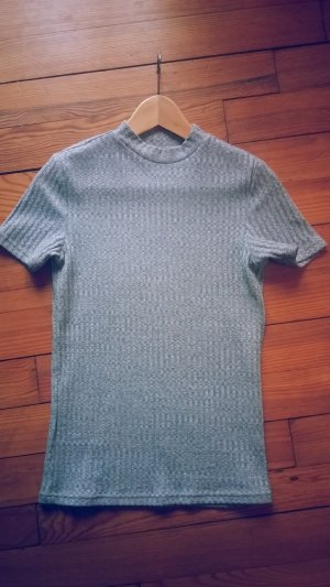 Turtleneck Shirt grey-light grey