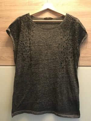 Tshirt grau/schwarz