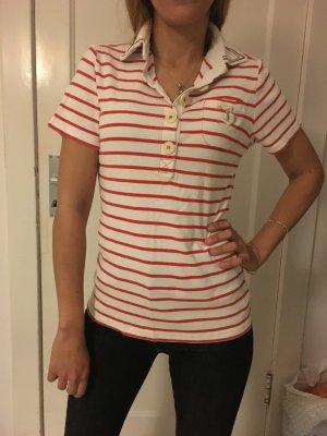 Tshirt in rot/weiß , Bogner