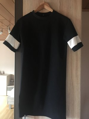 New Look Robe t-shirt noir-blanc