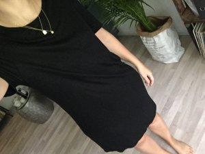Tshirt Kleid schwarz H&M