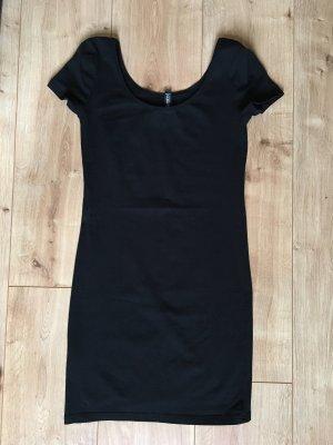 Tshirt Kleid schwarz H&M Größe 36