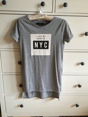 Tshirt longshirt blogger nyc Print Shirt