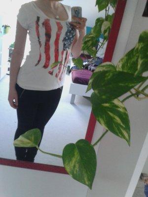 Tshirt mit amerikanischer Flagge