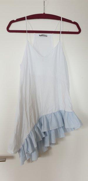 Zara Top white-light blue