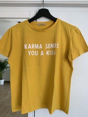 Tshirt mit Karma Print