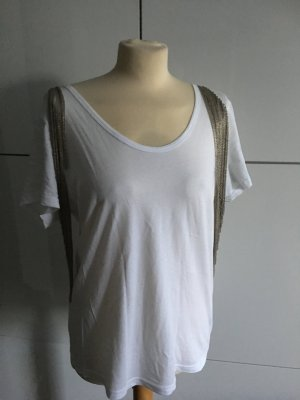 Tshirt mit Ketten Details Gr. 38